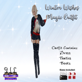 ~SWD~ winter Wishes ~ Magic Outfit RFL