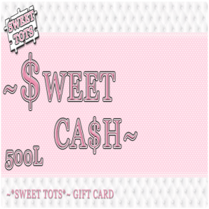 Sweet Tots sweetcash2
