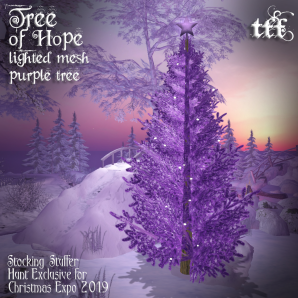 TFF Tree of Hope - Stocking Stuffer for Christmas Expo 2019