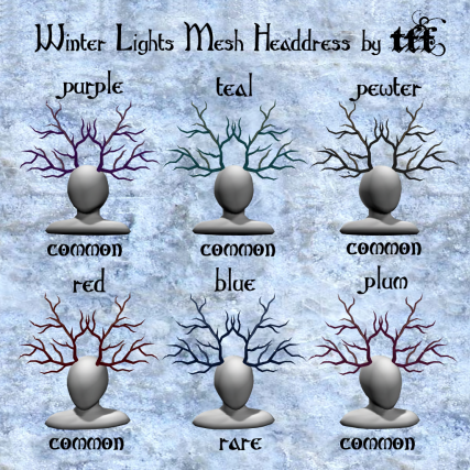 TFF Winter Lights Mesh Headdress Gacha ad