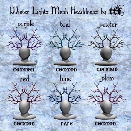 TFF Winter Lights Mesh Headdress Gacha ad