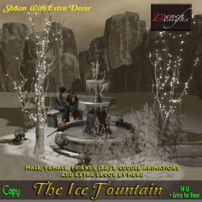 The Ice Fountain - Dench Designs