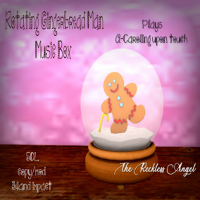 The Reckless Angel - Gingerbread Final