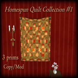The Reckless Angel - Homesputn Quilt Collection 1