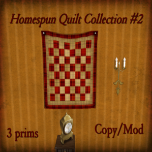 The Reckless Angel - Homesputn Quilt Collection 2