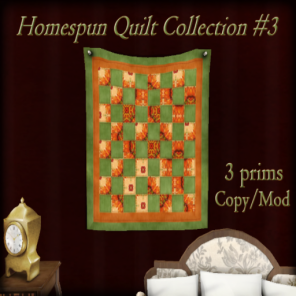The Reckless Angel - Homesputn Quilt Collection 3
