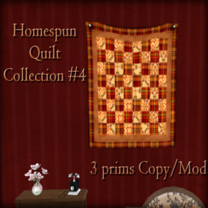 The Reckless Angel - Homesputn Quilt Collection 4