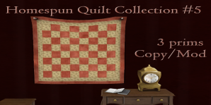 The Reckless Angel - Homesputn Quilt Collection #5