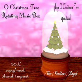 The Reckless Angel - O Christmas Tree Final