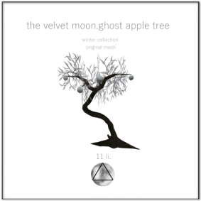 the velvet moon-winter collection ghost apple tree