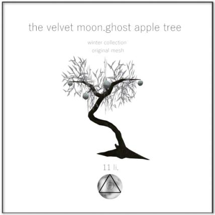 the velvet moon-winter collection ghost apple tree