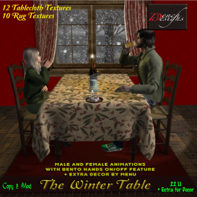 The Winter Table - Dench Designs