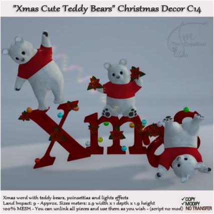 ._Tm_.Creation - C14 Xmas Teddy Bears Christmas 100%