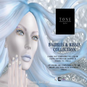 TONE 2 - Baubles & Kisses Collection Ad Board
