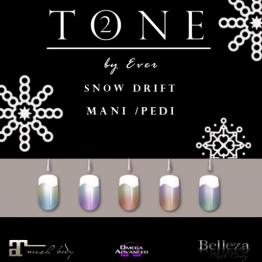 TONE 2 - Snow Drift Colorscapes Mani Pedi Collection