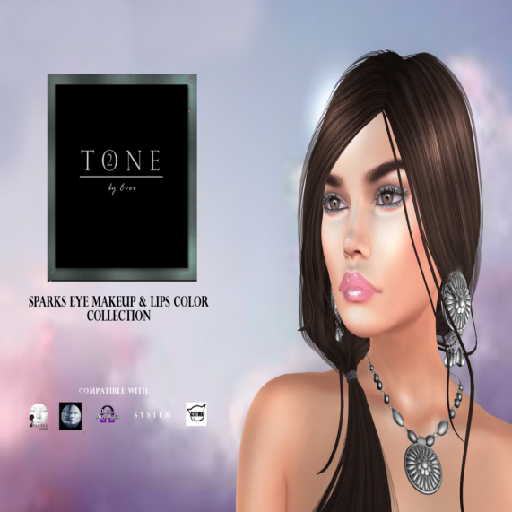 TONE 2 - Sparks Eyes & Lips Collection. Ad Board
