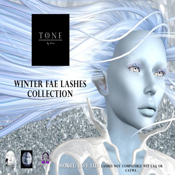 TONE 2 - Winter Fae Lashes Collection AD BOARD