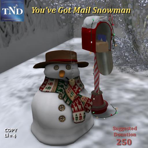 True North Designs - MailSnowman