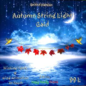 UI Autumn String Light Gold