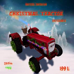 UI Christmas Tractor