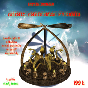 UI Gothic Christmas Pyramid