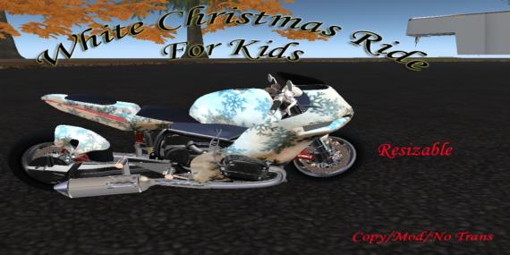 White Christmas Ride AD
