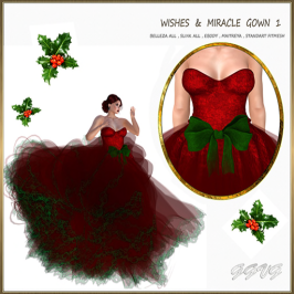 WISHES AND MIRACLE GOWN 1