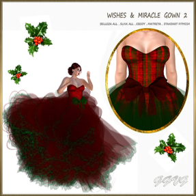 WISHES AND MIRACLE GOWN 2